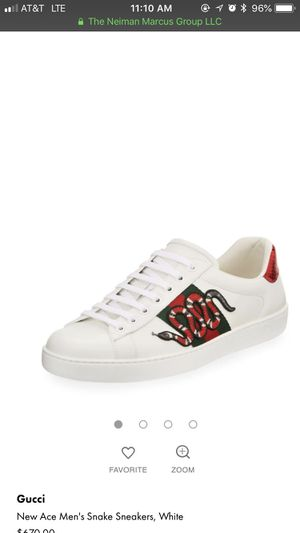 Authentic Gucci shoes size 10 men for Sale in Villas, NJ