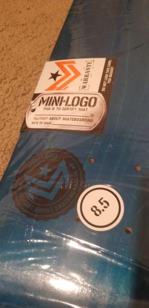 Mini logo 8.5 skateboard deck for Sale in Fullerton, CA