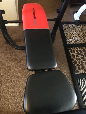 Weight bench and weights for Sale in Riverside, CA