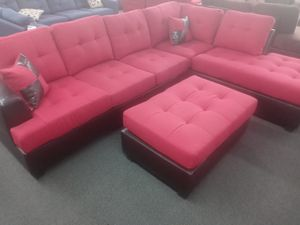 3pcs Sectional Sofa w/ottoman for Sale in Riverside, CA