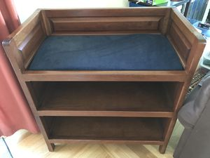 Cherry Wood Diaper Changing Table for Sale in Santa Clara, CA
