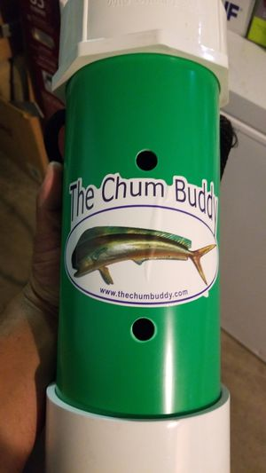 The Chum Buddy tool for Chuming Chum for Fishing Saltwater or Freshwater Brand New for Sale in Los Angeles, CA