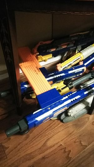 Nerf Amazing Collection! Swords, Battle Axes, Guns, Mods, Clips and Darts Included! for Sale in Levittown, PA