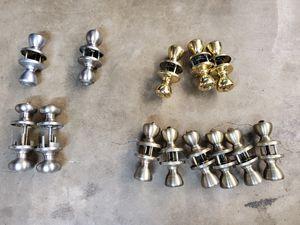 Kwikset Doorknobs and Deadbolts New With Keys for Sale in Cerritos, CA