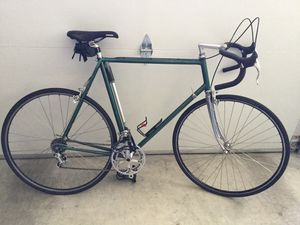 Road bike. Early 70s Benotto Columbus SL frame . 60 cm. Nice mix of Campagnolo, Cinelli, and Magic. for Sale in Mukilteo, WA