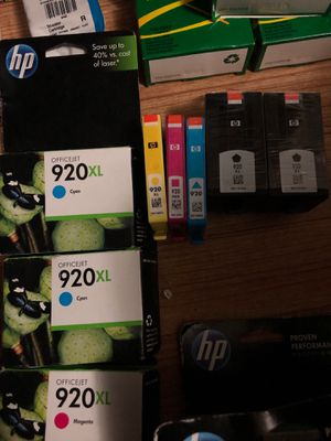 Here some more for that 920 printer ink 2 XL black not boxed but was for Sale in Sterling, KS