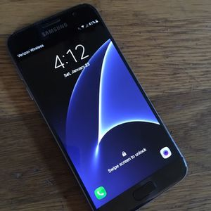 Samsung Galaxy S7 Sm-G930V 32GB Black Sapphire for Sale in Lake Forest Park, WA