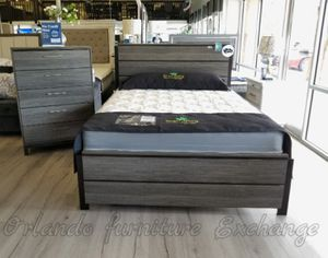 $199 QUEEN BED FRAME only!!! Display for Sale in Oviedo, FL