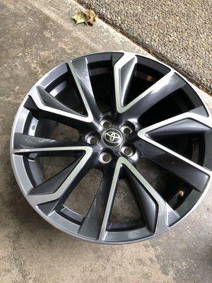one wheel - 2020 Toyota Corolla OEM wheel 18x8 5x100 - OEM part # 42611-12D60 for Sale in Issaquah, WA
