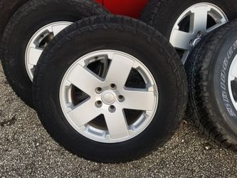 2009 jeep wrangler wheels for Sale in Boynton Beach,  FL