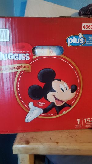 Huggies size one diapers 192 cnt for Sale in Tempe, AZ