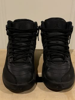 Jordan 12 Winterized 'Triple Black' Size 7 for Sale in Lombard,  IL