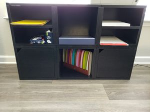Wooden storage shelves- convertable for Sale in Durham, NC