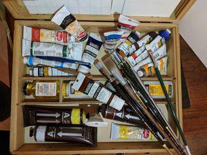 Acrylics Paint Box + + for Sale in Alexandria, VA