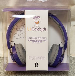 NEW! Little Gadget Untangled PRO Wireless Bluetooth Headphone! for Sale in Naperville, IL