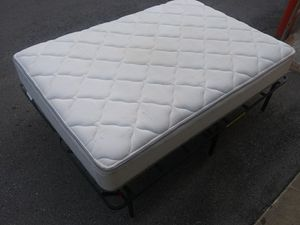 Used full size mattress + box spring for Sale in Nashville, TN