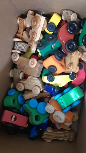 Wooden toy cars for kids $3 EACH for Sale in Denver, CO