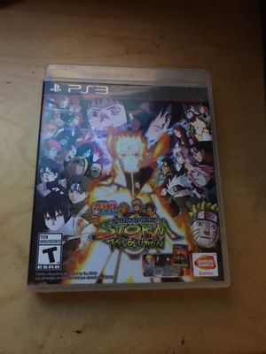 Naruto Shippuden Ultimate Ninja Storm Revolution for Sale in Montgomery Village, MD