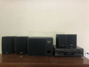 Panasonic Home Sound System - no wires, just power cords for Sale in Lexington, KY