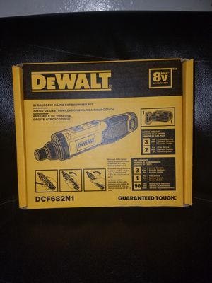 Dewalt 8v Screwdriver new for Sale in Hayward, CA