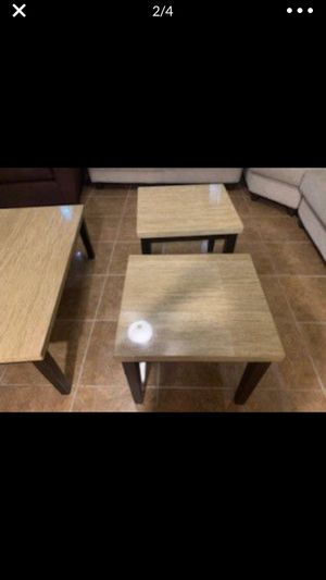 3 living room tables great condition for Sale in Mercedes, TX