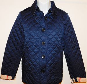 BURBERRY Women's Diamond Quilted Light Jacket Navy & Canvas for Sale in Raleigh, NC