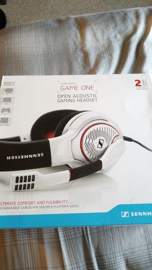 Sennheiser game one gaming headset for Sale in Lakeland, FL