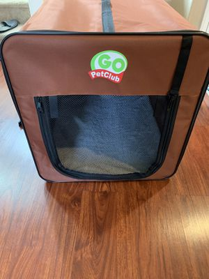 Go Pet Club AB32 Soft Dog Crate, Brown - 32 inches L x 22.2 inches W x 23.5 H for Sale in Las Vegas, NV