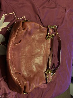 Coach Brooke soft pebbled leather hobo bag. for Sale in Baltimore, MD