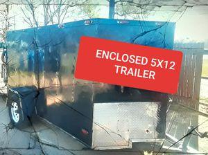 Trailer 5×13 ENCLOSED for Sale in Dallas, TX