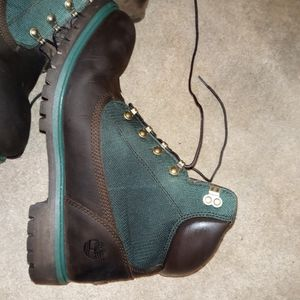 Beef and Broccoli Timberland work boots for Sale in Olivette, MO