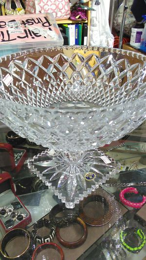 Bohemian Crystal decanter for Sale in BETHEL, WA