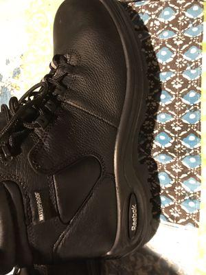 "Reebok work Trainex 6"" waterproof composite toe boots for Sale in Kernersville, NC"