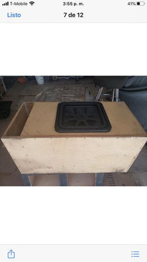 """Two subwoofer almost new kicker 15"""" L7 solo baric for Sale in Las Vegas, NV"""
