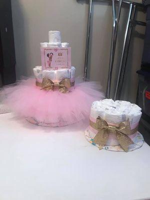 Diaper cake bundle for Sale in Murfreesboro, TN