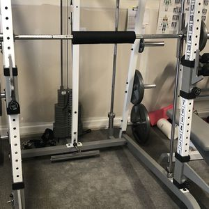 Smith Cage With Bench Plus Pull-up/Ab Tower for Sale in Newcastle, WA