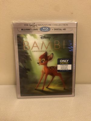 Disney Bambi (Blu-ray / DVD) Signature Edition - Only @ BestBuy Lenticular Cover for Sale in Brooklyn, NY