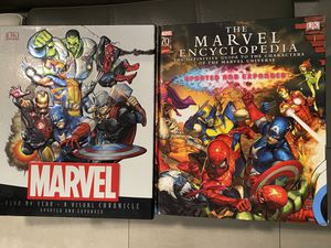 Marvel/DC encyclopedia and more. for Sale in Miami, FL