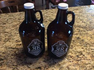 Rusty rail growlers! FREE! for Sale in New Columbia, PA