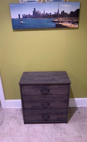 Dresser (grey wood) for Sale in Washington, DC