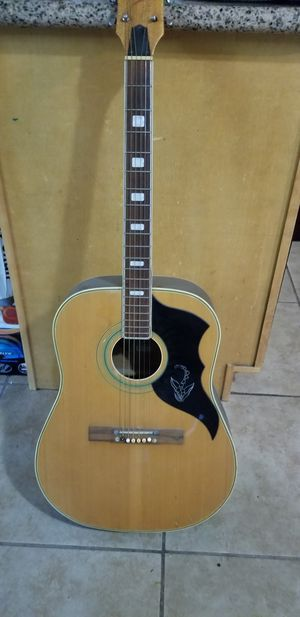 Audition guitar 6 strings acoustic for Sale in San Jose, CA