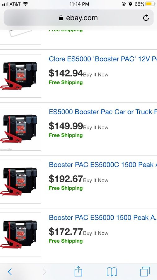 Booster PAC ES 5000