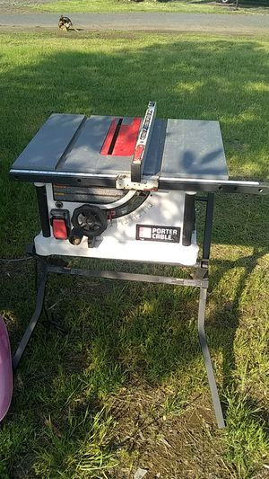 Porter Cable table saw smoker steam cleaner tool box etc have a bunch of items just trying to get rid of going to the best offer for Sale in Sweet Home, OR