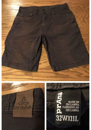 """Prana faded cargo shorts size 32""""w 11""""L for Sale in Portland, OR"""
