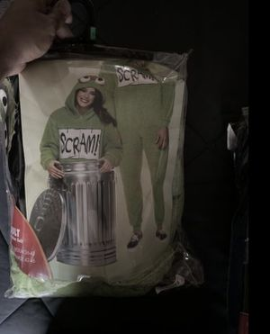 Oscar the grouch costume onesie for Sale in Colton, CA