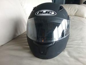 HJC matte black Bluetooth helmet for Sale in Atlanta, GA