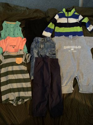 12 month boys clothing for Sale in Buffalo, NY
