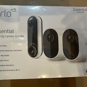 Brand New Arlo Essentials Security Camera/ Doorbell Camera Bundle. $165 OBO for Sale in Midway, KY