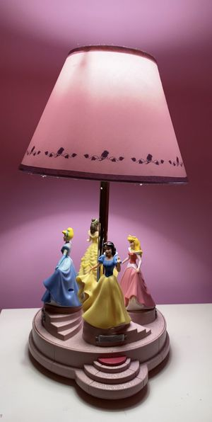 Spinning Disney Princess Musical Lamp for Sale in Gaithersburg, MD