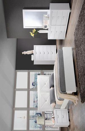 [HOT DEAL] Brahma White Panel Bedroom Set   BR1235 MYCO for Sale in Houston, TX